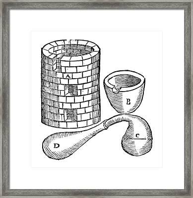 Par� Tools, C1575 Framed Print