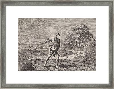 Parable Of The Sower And The Kingdom Of Heaven Framed Print