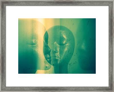 Parabola Framed Print by Bobby Zeik