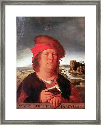 Paracelsus Framed Print by Universal History Archive/uig