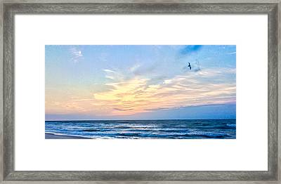 Paraclete At Sunrise  Framed Print