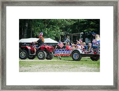 Parade 3 Framed Print by Cassie Marie Photography