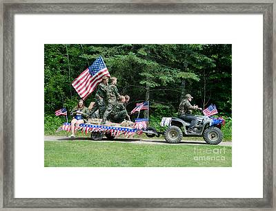 Parade Framed Print by Cassie Marie Photography