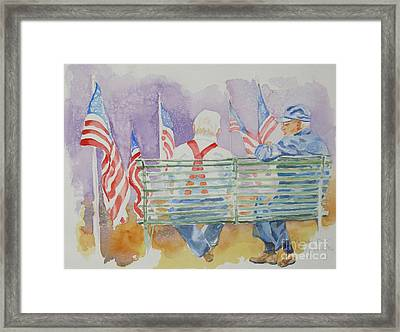 Parade Day Framed Print