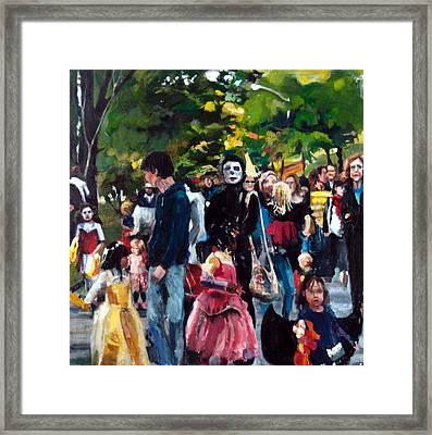 Parade I Framed Print by Mia Merlin