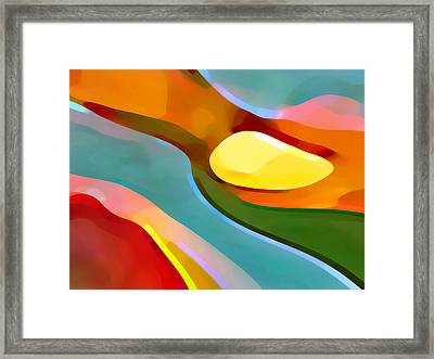 Paradise 5 Framed Print by Amy Vangsgard