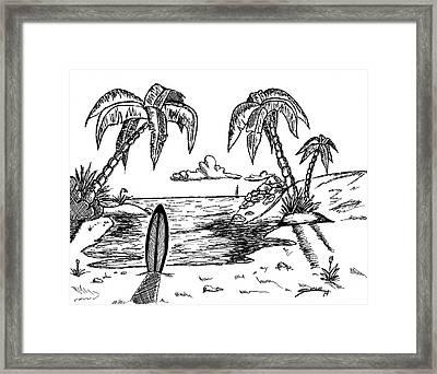 Paradise Framed Print by Alex Sholar