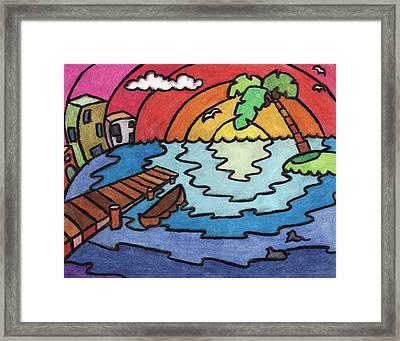 Paradise Framed Print by Ashley King