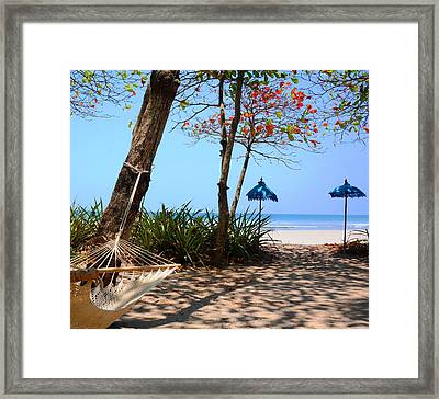 Paradise Beach Framed Print