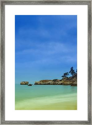 Paradise Beach Framed Print by Marco Oliveira