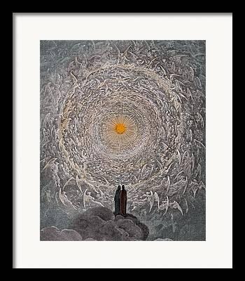 Symbolic Drawings Framed Prints