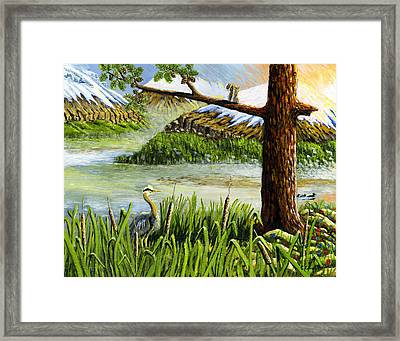 Paradise  Framed Print by Carey MacDonald