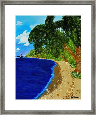 Paradise Framed Print by Celeste Manning