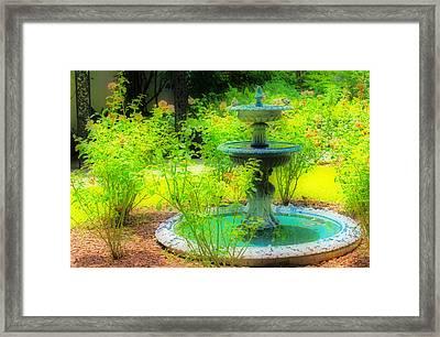 Paradise Corner Framed Print