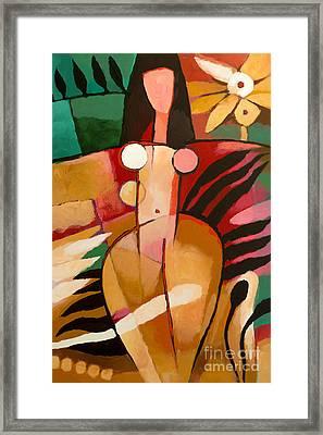 Paradise Eve Framed Print by Lutz Baar