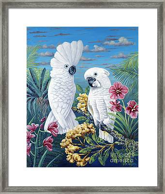 Paradise For Too Framed Print by Danielle  Perry