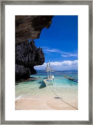 Paradise Framed Print by Fototrav Print