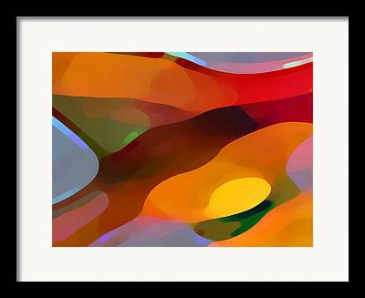 Abstractions Framed Prints