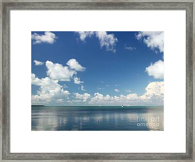 Paradise Found II Framed Print by Michelle Wiarda