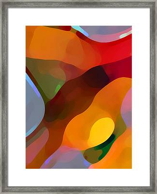 Paradise Found Tall Framed Print