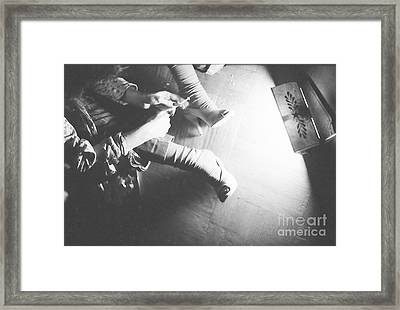 Framed Print featuring the photograph Paradise Hell by Steven Macanka