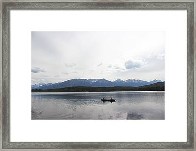 Paradise In Pyramid Island Framed Print by Ryan Crouse