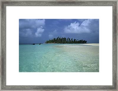 Paradise Island 1 Framed Print by James Brunker