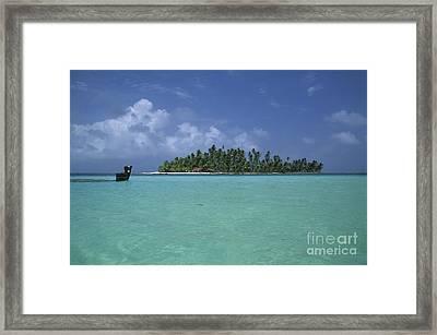 Paradise Island 2 Framed Print by James Brunker