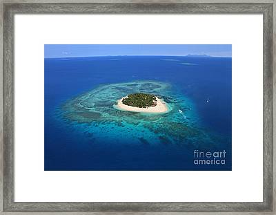 Paradise Island In South Sea I Framed Print by Lars Ruecker