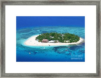 Paradise Island In South Sea IIi Framed Print by Lars Ruecker