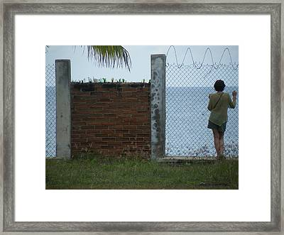 Framed Print featuring the photograph Paradise Lost by Brian Boyle