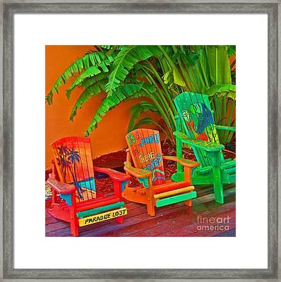 Paradise Lost Framed Print by Debbi Granruth