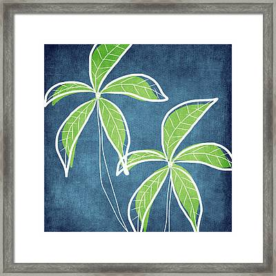 Paradise Palm Trees Framed Print