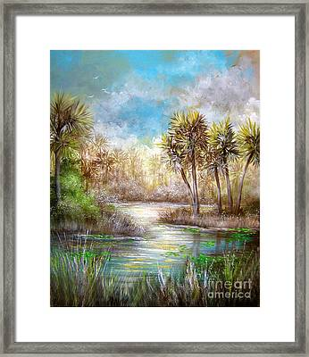 Paradise Framed Print by Patrice Torrillo