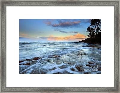 Paradise Sunrise Framed Print