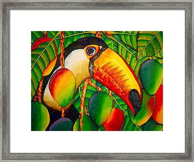 Paradise Toucan Framed Print
