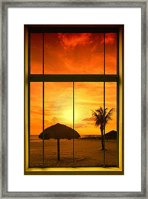 Paradise View I Framed Print