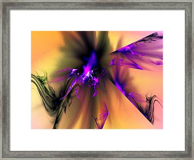 Paradox And Conflict Framed Print by Jeff Iverson