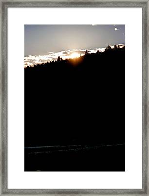 Paradox Lake V Framed Print by Brian Lucia