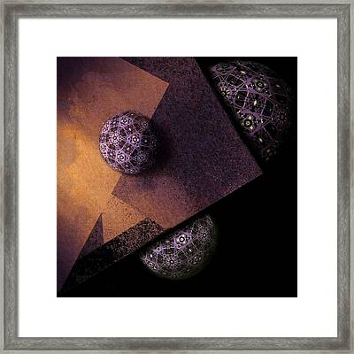 Framed Print featuring the digital art Paragon by Susan Maxwell Schmidt