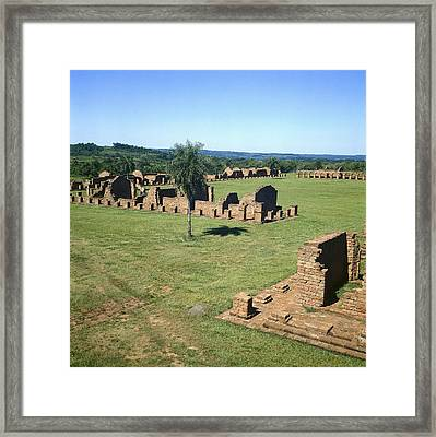 Paraguay. Eastern Paraguay. Itapua Framed Print