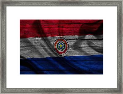 Paraguay Framed Print