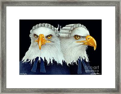 Paralegals... Framed Print by Will Bullas