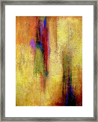Parallel Dreams Framed Print
