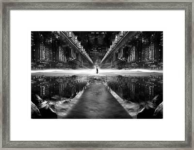 Parallel World Framed Print by Ivan Vukelic