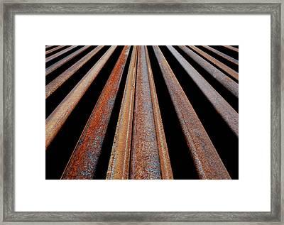Parallels Framed Print by Steven Milner