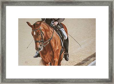 Paralympian Gold Framed Print