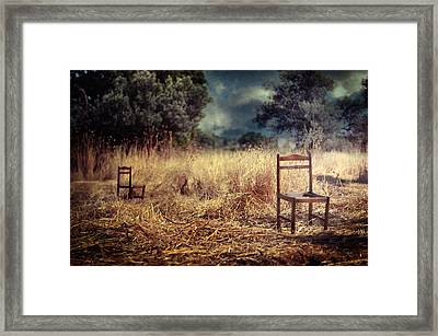 Paralyzed Framed Print by Taylan Apukovska