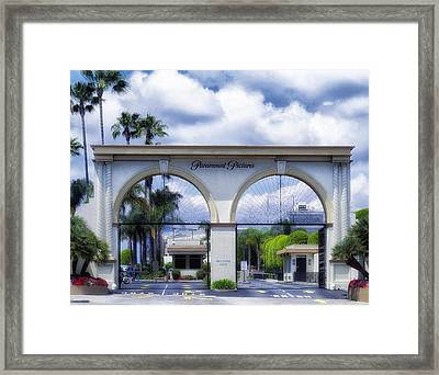 Paramount Pictures Framed Print by Mountain Dreams