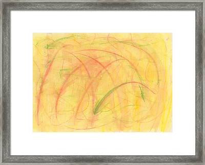 Paranoid In Reverse-horizontal Framed Print by Kelly K H B